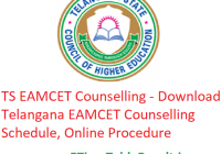 TS EAMCET 2019 Counselling - Download Telangana EAMCET Counselling, Schedule, Online Procedure